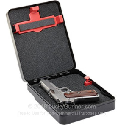 Large image of Hornady Shackle Box Handgun Safe For Sale - Hornady Shckle Box Clamshell Handgun Safe For Sale