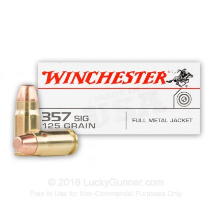 Image 1 of Winchester .357 Sig Ammo