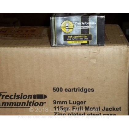 Image 2 of MFS 9mm Luger (9x19) Ammo