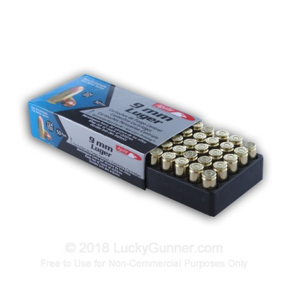 Image 4 of Aguila 9mm Luger (9x19) Ammo
