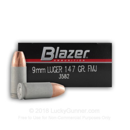 Image 4 of Blazer 9mm Luger (9x19) Ammo