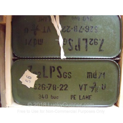Image 1 of Romanian Military Surplus 8mm Mauser Ammo