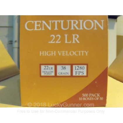Image 2 of Centurion .22 Long Rifle (LR) Ammo