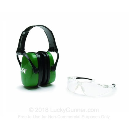 Large image of Howard Leight Green Electronic Earmuffs For Sale - 25 NRR - Howard Leight Safety Combo Kit in Stock