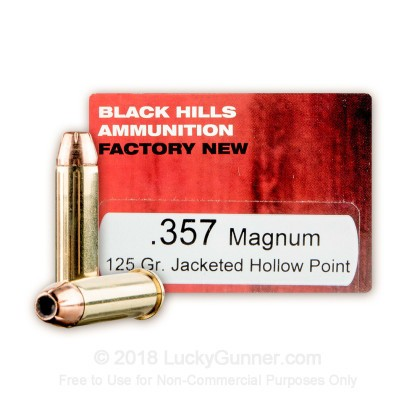 Image 1 of Black Hills Ammunition .357 Magnum Ammo