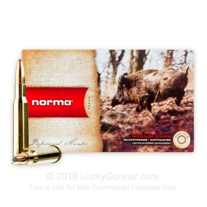Image 2 of Norma 7.57 Rimmed Ammo
