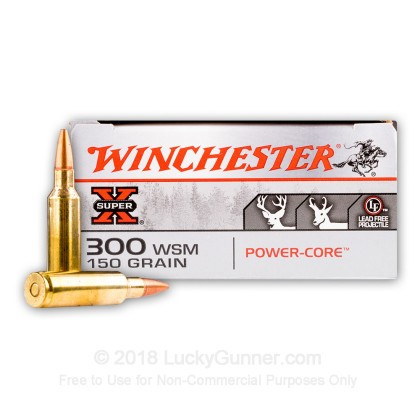 Image 2 of Winchester 300 Winchester Short Magnum Ammo