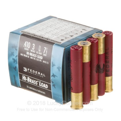 Image 3 of Federal 410 Gauge Ammo