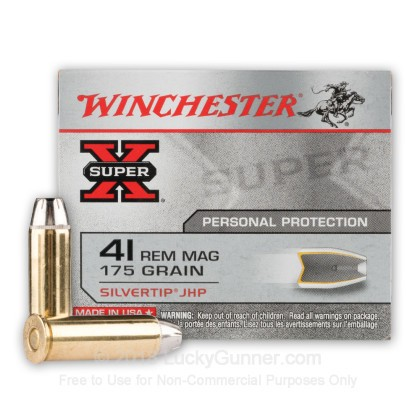 Image 2 of Winchester .41 Rem Magnum Ammo
