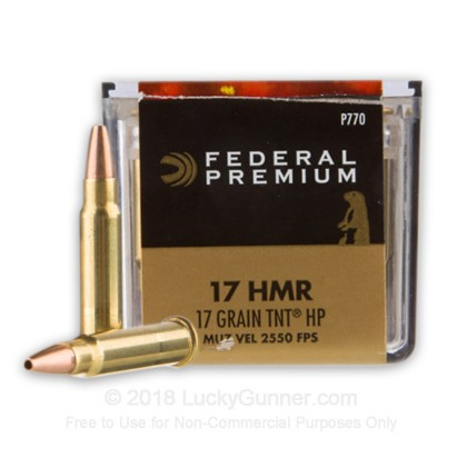 Image 1 of Federal .17 HMR Ammo