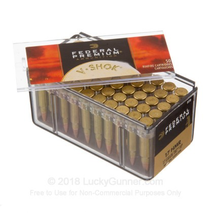 Image 3 of Federal .17 HMR Ammo