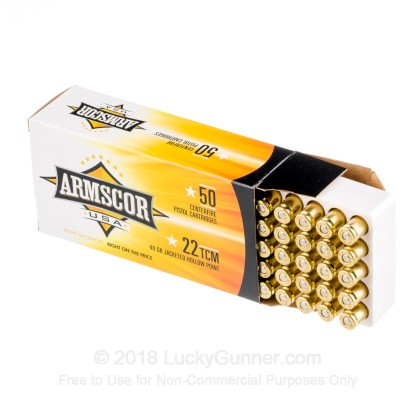 Image 3 of Armscor .22 TCM Ammo