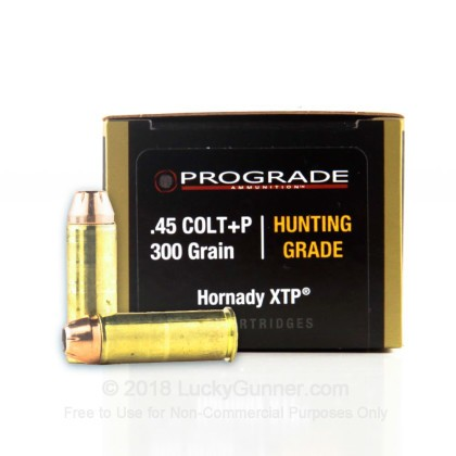 Image 1 of ProGrade Ammunition .45 Long Colt Ammo