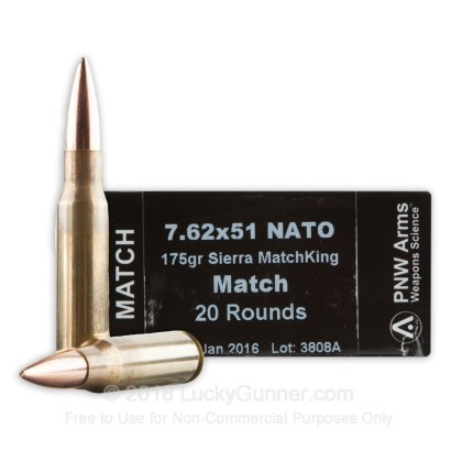 Image 1 of PNW Arms .308 (7.62X51) Ammo