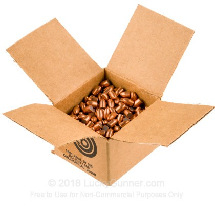 "Large image of Premium 9mm (.355"") Bullets for Sale - 124 Grain FMJ Bullets in Stock by Zero Bullets - 500 Projectiles"