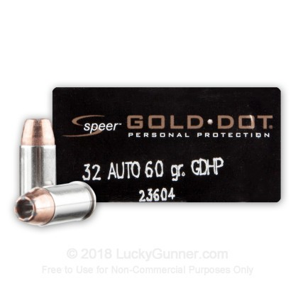 Image 1 of Speer .32 Auto (ACP) Ammo
