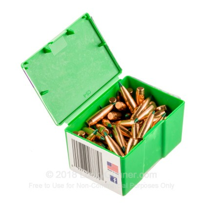 Large image of Bulk 308 Win (.308) Bullets for Sale - 175 Grain Polymer Tip Bullets in Stock by Sierra - 100