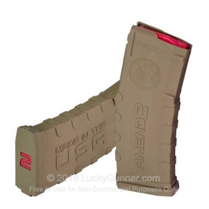Large image of Cheap 5.56x45 Magazine For Sale - AR-15 Flat Dark Earth Magazine in Stock by Amend2 - 30 Round Magazine