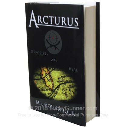 Large image of Arcturus Hardback by M.J. Mollenhour - Terrorism Thriller - Fiction
