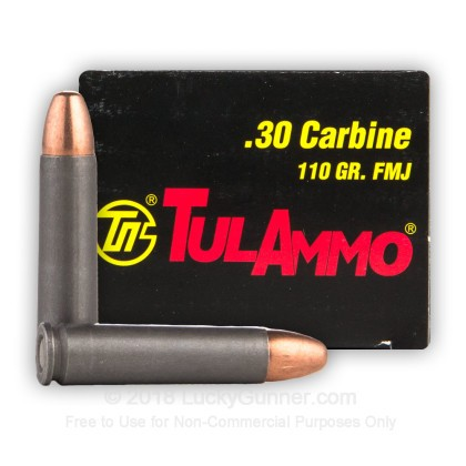 Image 1 of Tula Cartridge Works 30 Carbine Ammo