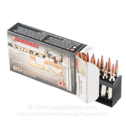 Image 3 of Barnes 6.5mm Creedmoor Ammo