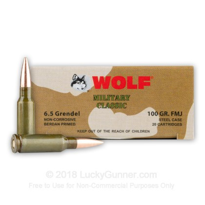 Image 2 of Wolf 6.5 Grendel Ammo