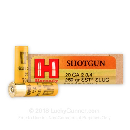 Image 1 of Hornady 20 Gauge Ammo