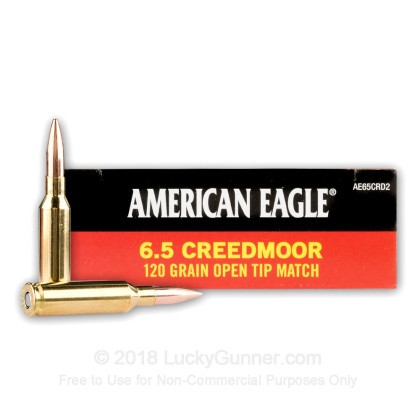Bulk 6.5 Creedmoor Ammo For Sale - 120 Grain OTM Ammunition in Stock ...