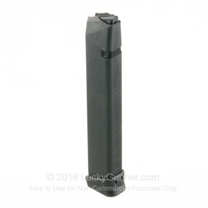 Large image of Premium 9mm Luger Magazine For Sale - 33 Round 9mm Luger Magazine in Stock by Glock for 9mm Glocks - 1 Magazine