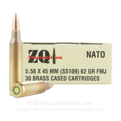 Image 1 of ZQI Ammunition 5.56x45mm Ammo