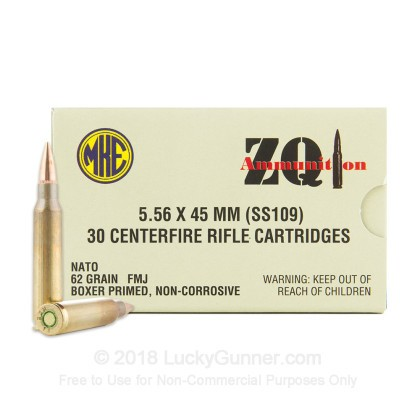 Image 2 of ZQI Ammunition 5.56x45mm Ammo