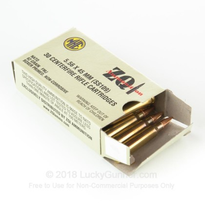 Image 3 of ZQI Ammunition 5.56x45mm Ammo