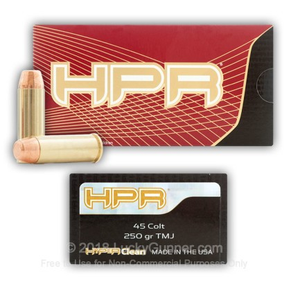 Image 4 of HPR .45 Long Colt Ammo