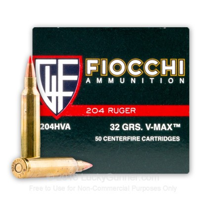 Image 1 of Fiocchi .204 Ruger Ammo