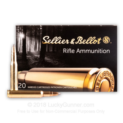 Image 2 of Sellier & Bellot .30-06 Ammo