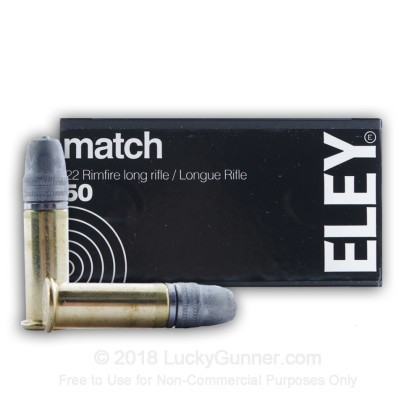 Image 2 of Eley .22 Long Rifle (LR) Ammo