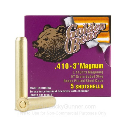 Image 1 of Golden Bear 410 Gauge Ammo