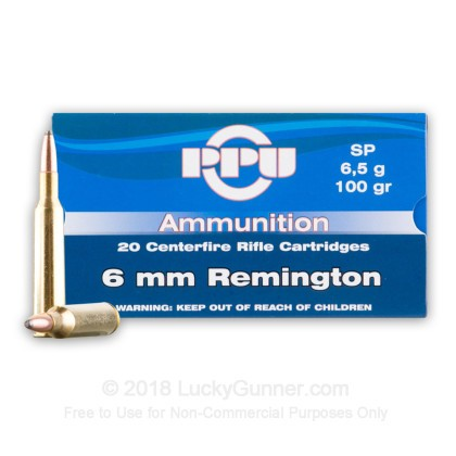 Image 2 of Prvi Partizan 6mm Remington Ammo