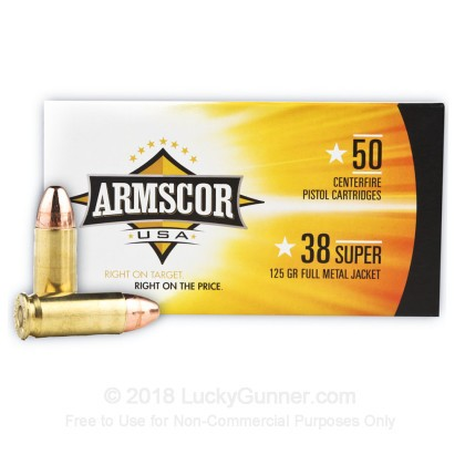 Image 2 of Armscor .38 Super Ammo