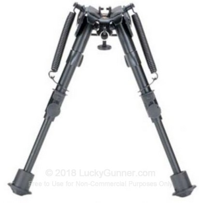 Large image of Blackhawk Sportster Standard Bipod with Adjustable Height - Matte Black Rifle Bipod Available in a Variety of Heights