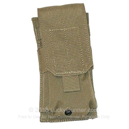 Large image of Double Magazine Pouch STRIKE AR 15 Blackhawk Coyote Tan For Sale