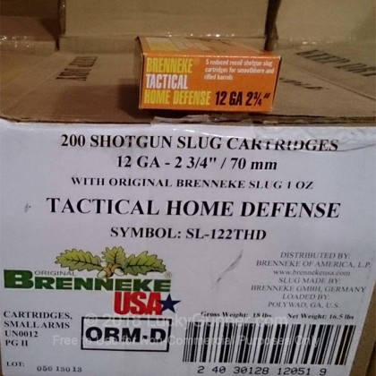 Image 1 of Brenneke Slugs 12 Gauge Ammo