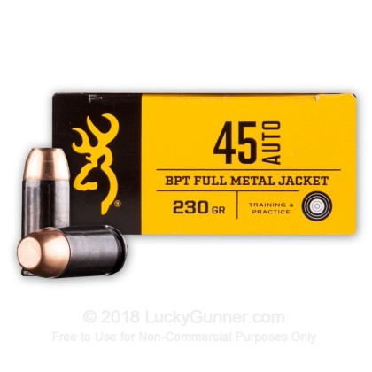 Image 2 of Browning .45 ACP (Auto) Ammo