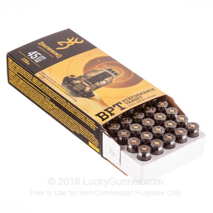 Image 3 of Browning .45 ACP (Auto) Ammo