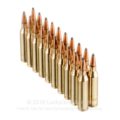Large image of Cheap 243 Win Ammo In Stock  - 100 gr Fiocchi PSP Ammunition For Sale Online - 20 Rounds