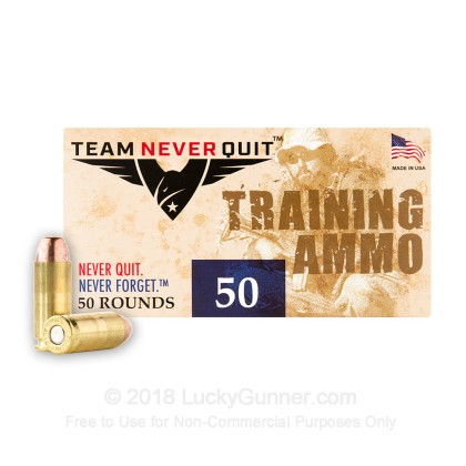 Image 3 of Team Never Quit 10mm Auto Ammo