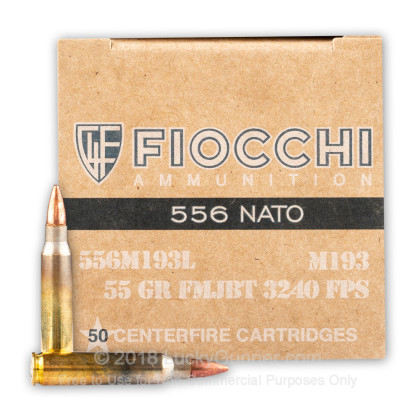 Image 2 of Fiocchi 5.56x45mm Ammo