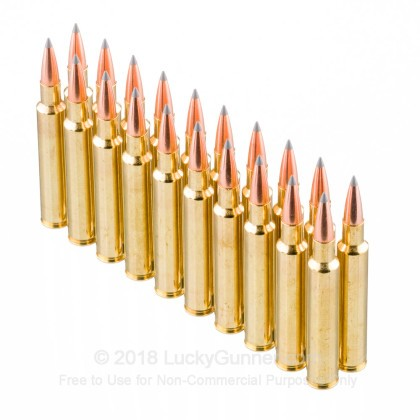 Image 4 of Nosler Ammunition 280 Ackley Improved Ammo