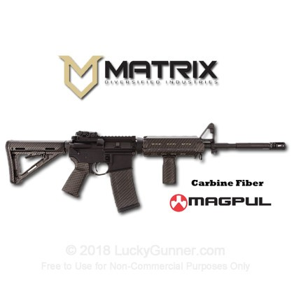 Large image of Magpul - Matrix Diversified Industries Rifle Kit - AR Furniture - Carbon Fiber