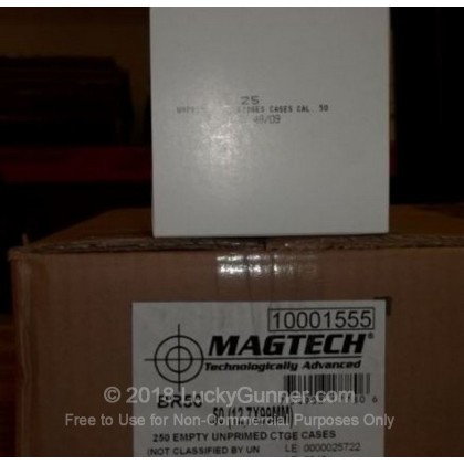 Large image of New 50 Cal BMG Brass Casings by Magtech